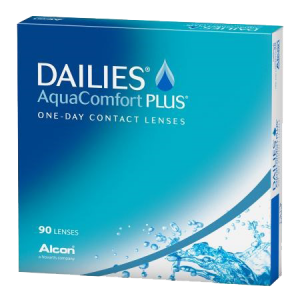 Eye doctor, Dailies AquaComfort Plus contact lenses in Austin, TX